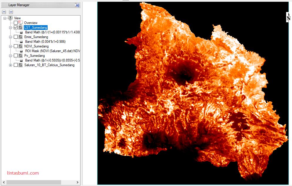 Analisis Suhu Permukaan Menggunakan Landsat 8 : Sebuah